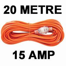 15a extension lead hire
