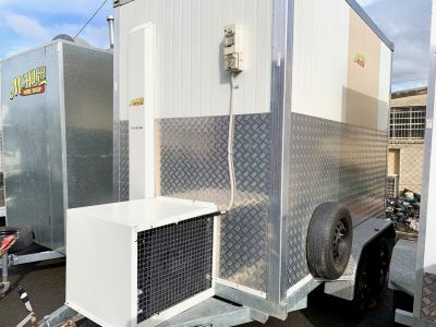 Mobile coolroom hire 10x6