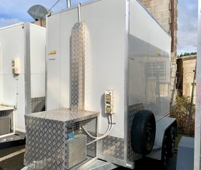 Mobile coolroom hire 9x5