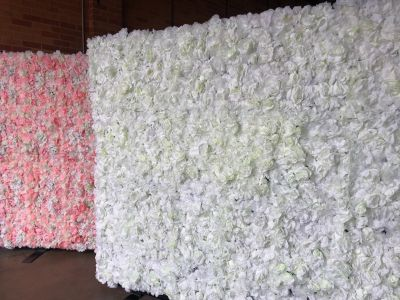 Flower Wall Hire - Decorated