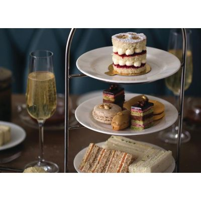 Round High Tea Plates Stand Hire - 3 Tier (inc plates)