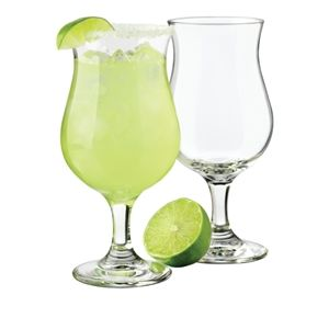 Hurricane cocktail glass hire