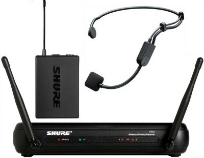 Headset microphone hire