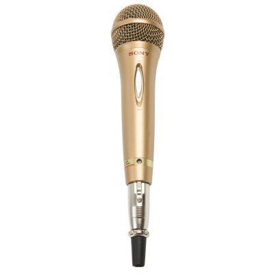 SONY gold microphone hire
