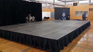 Portable stage hire