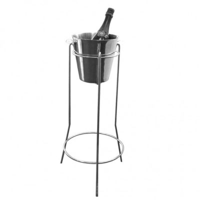 Champagne stand and bucket